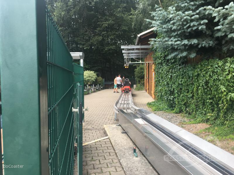 Alpine Coaster im Park Gemeindeverwaltung Gelenau Impressionen