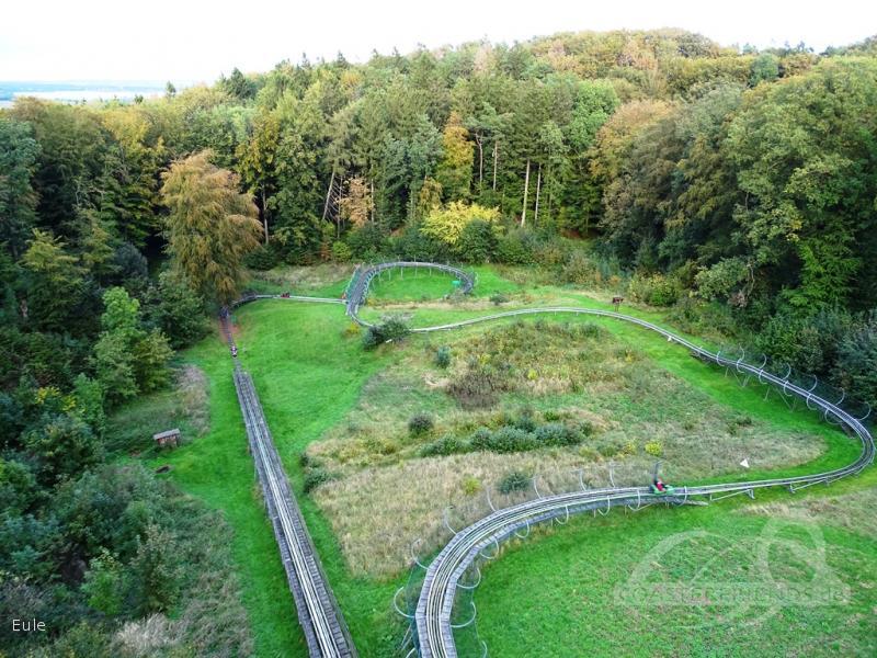 Inselrodelbahn Bergen auf Rügen im Park Rhinow + Dehn OHG Impressionen