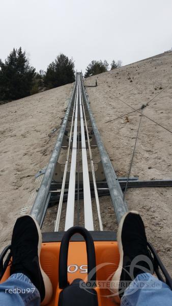 Monte Coaster im Park SC Monte Kaolino Hirschau Impressionen