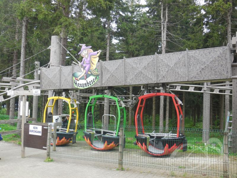 Hexenbesen im Park Ski- und Rodelarena Wasserkuppe Impressionen