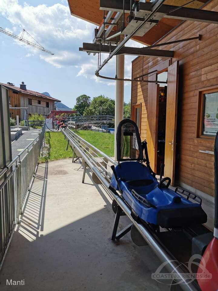 Allgäu Coaster (Söllereck-Rodel) im Park Söllereckbahn Kur- und Verkehrsbetrieb Impressionen