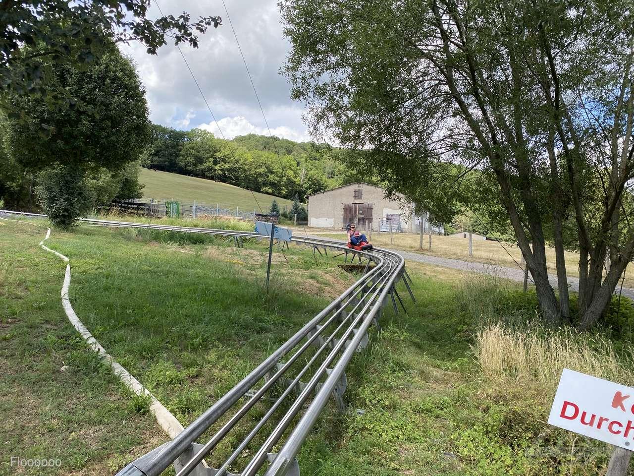 Rodelbahn Wippra im Park Wipperia Funpark Impressionen