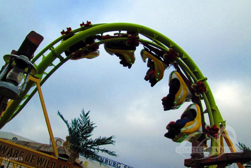 Cobra - Lost Kingdom Coaster im Park Agtsch Angelo Impressionen