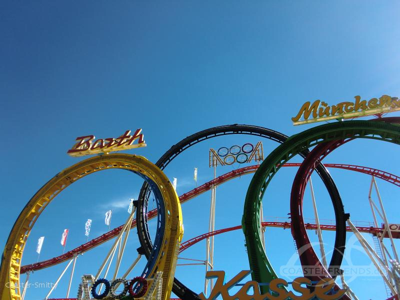 Olympia Looping im Park Barth Rudolf Impressionen