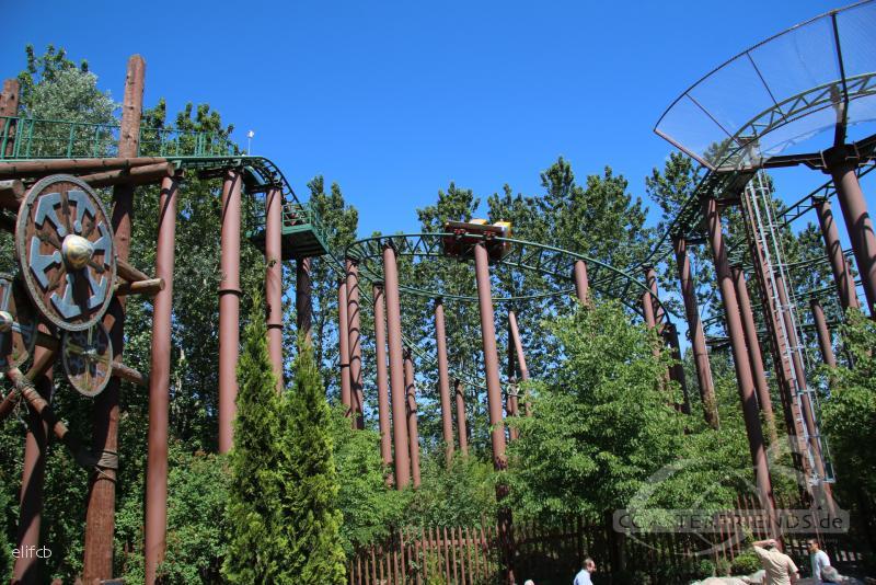 Thor's Hammer im Park Djurs Sommerland Impressionen