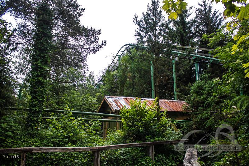 Mine Expressen im Park Farup Sommerland Impressionen