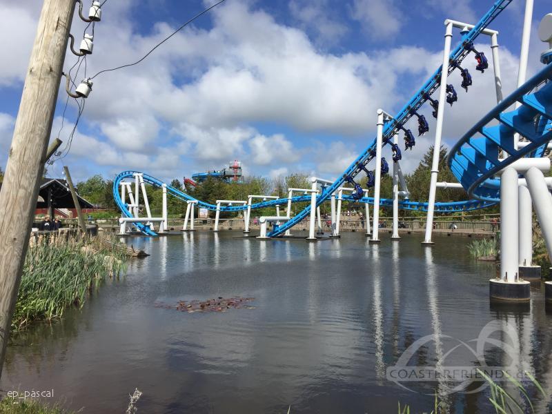 Orkanen im Park Farup Sommerland Impressionen