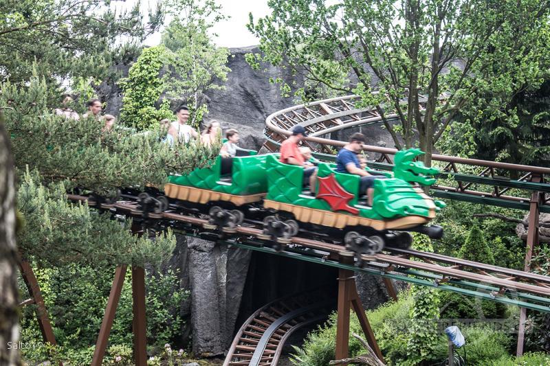Dragen im Park Legoland Billund Impressionen