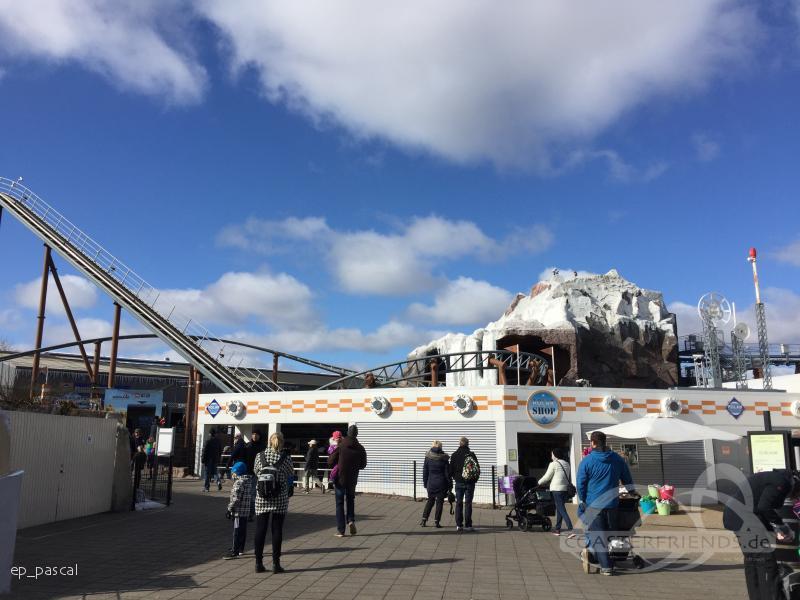 Polar X-plorer im Park Legoland Billund Impressionen