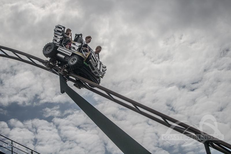 X-treme Racers im Park Legoland Billund Impressionen