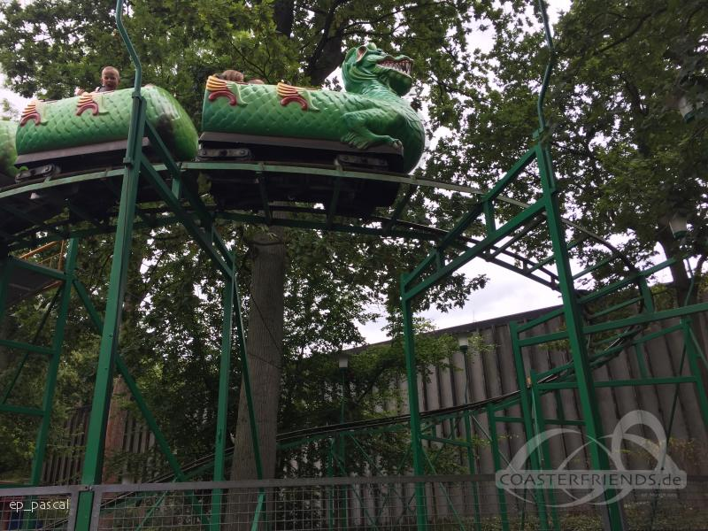Dragen im Park Tivoli Friheden Impressionen