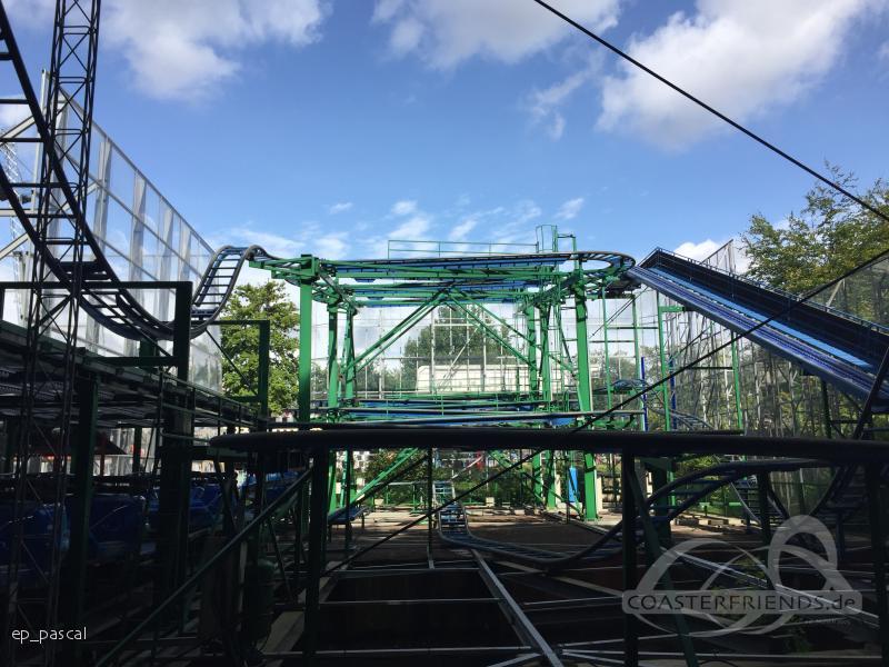 Tyfonen im Park Tivoli Friheden Impressionen