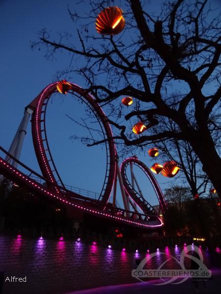 Dæmonen im Park Tivoli Gardens Impressionen