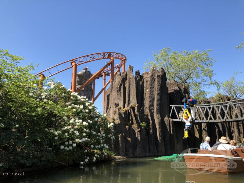 Flyvende Ørn im Park Legoland Billund Impressionen