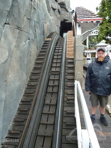 Rutschebanen im Park Tivoli Gardens Impressionen
