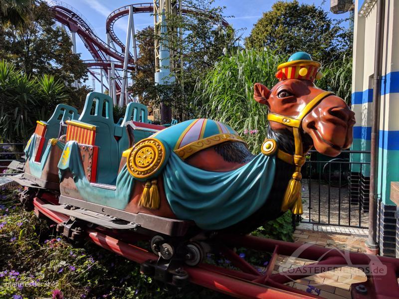 Kamelen im Park Tivoli Gardens Impressionen