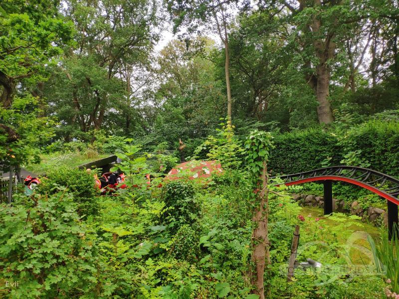 Mariehønen im Park Bakken Impressionen