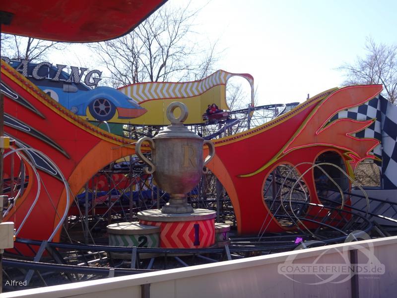 Racing im Park Bakken Impressionen