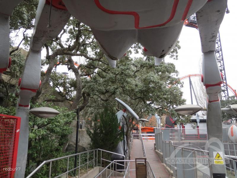 Tarántula im Park Parque de Atracciones de Madrid Impressionen