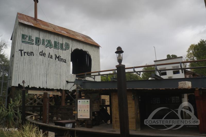 Diablo im Park PortAventura Park Impressionen