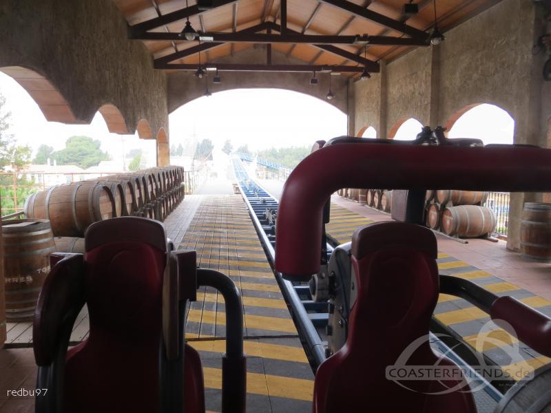 Furius Baco im Park PortAventura Park Impressionen