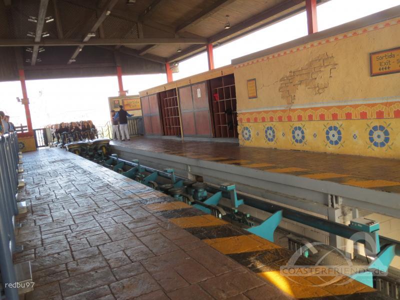 Shambhala im Park PortAventura Park Impressionen