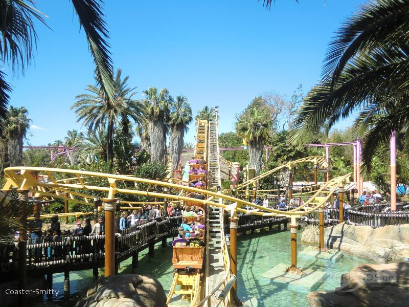 Tami-Tami im Park PortAventura Park Impressionen
