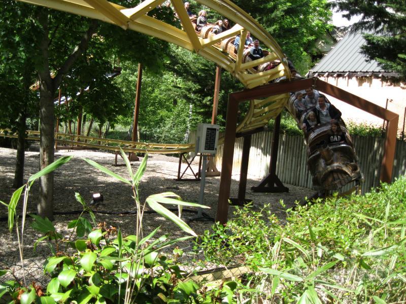 SOS Numérobis im Park Parc Astérix Impressionen