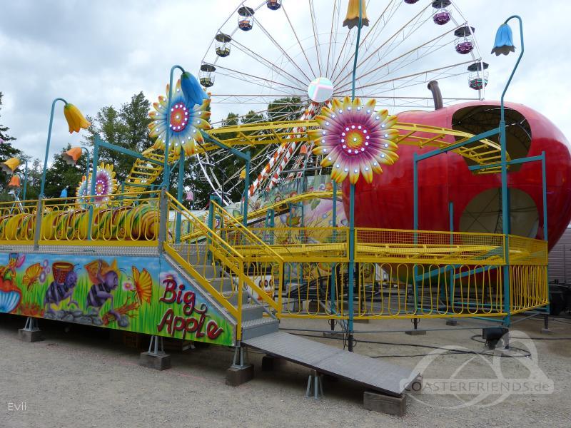 Big Apple im Park Villette, Joel Impressionen