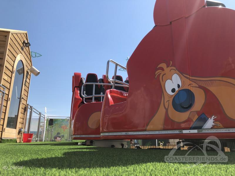Boule & Bill déboulent im Park Parc Spirou Impressionen