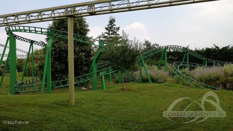 Train de la Mine im Park Cigoland Impressionen