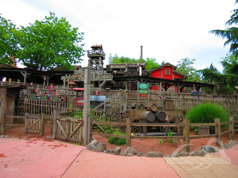 Big Thunder Mountain im Park Disneyland Paris - Disneyland Park Impressionen