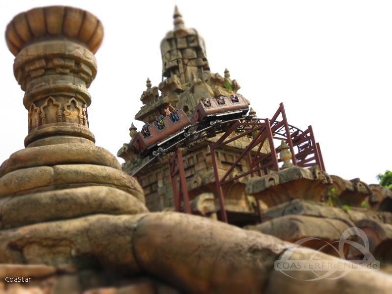 Indiana Jones et le Temple du Péril im Park Disneyland Paris - Disneyland Park Impressionen