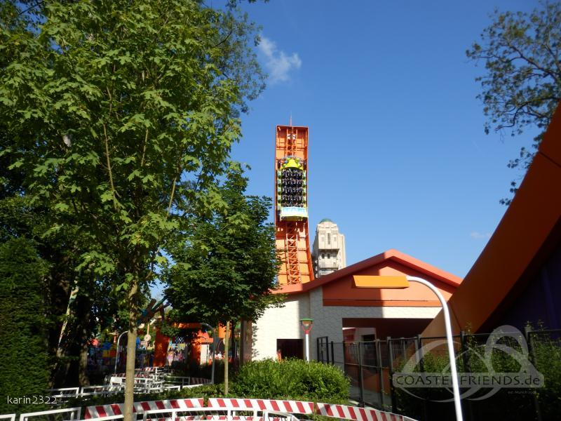 RC Racer im Park Disneyland Paris - Walt Disney Studios Park Impressionen