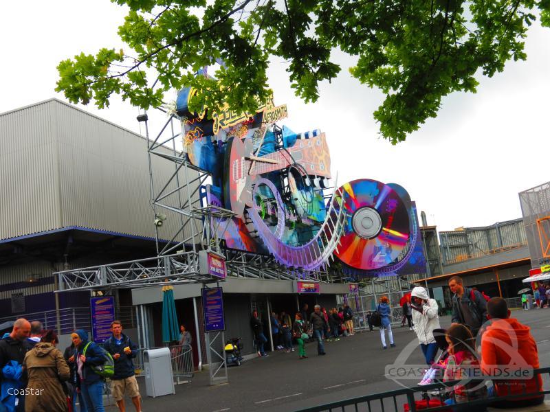 Rock 'n' Roller Coaster im Park Disneyland Paris - Walt Disney Studios Park Impressionen