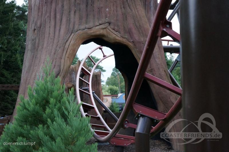 Timber Drop im Park Fraispertuis City Impressionen