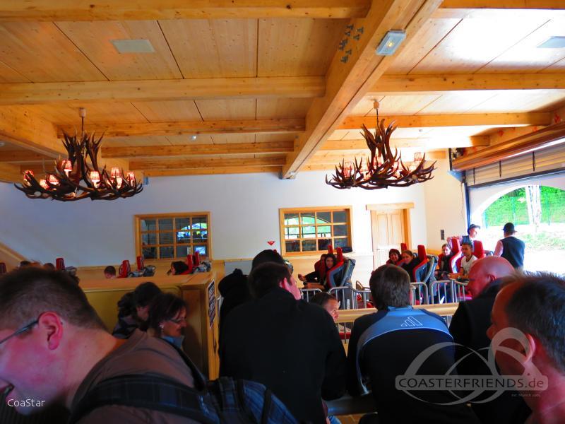Alpina Blitz im Park Nigloland Impressionen
