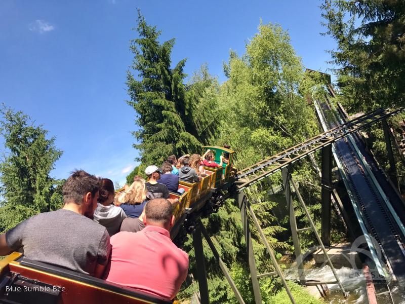 Gold Mine Train im Park Nigloland Impressionen