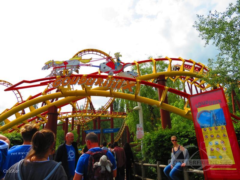 Goudurix im Park Parc Astérix Impressionen