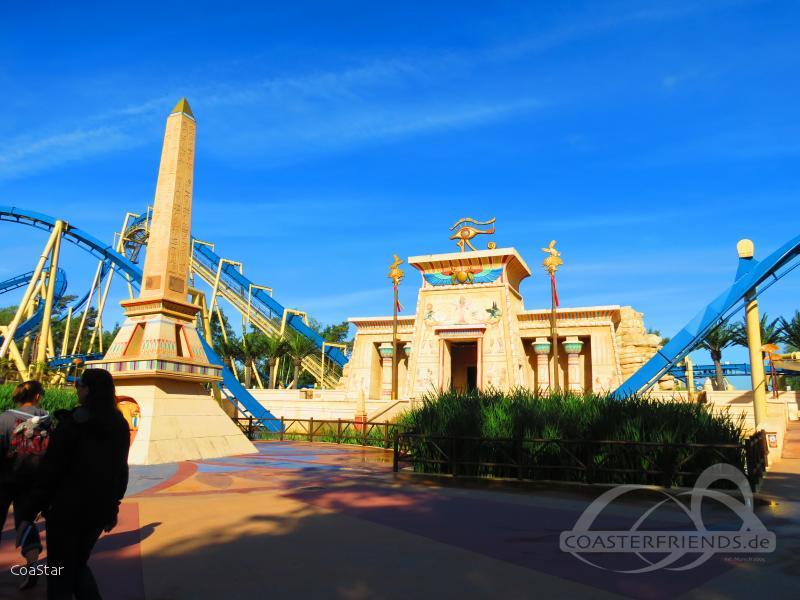 OzIris im Park Parc Astérix Impressionen