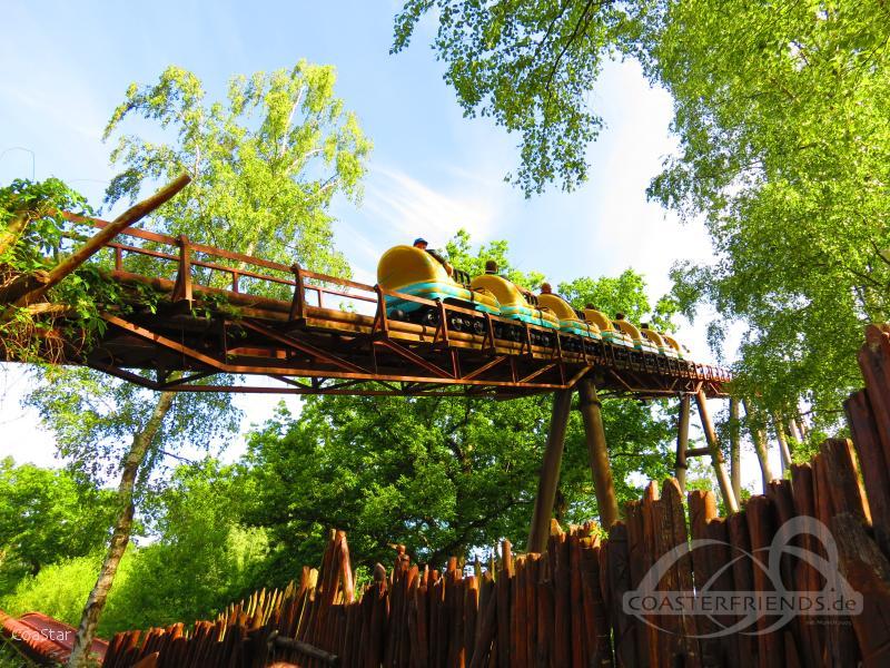 Trace Du Hourra im Park Parc Astérix Impressionen