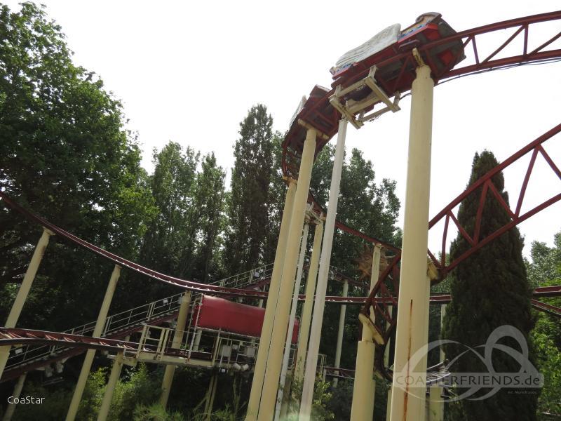 Vol D'Icare im Park Parc Astérix Impressionen