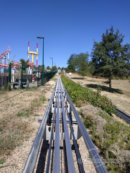 Alpine Coaster im Park Parc Touristique des Combes Impressionen
