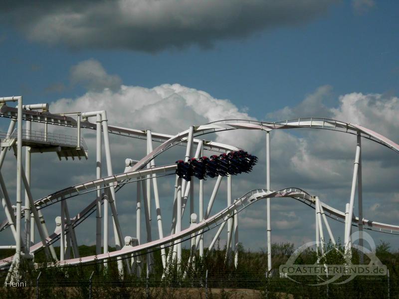 Monster im Park Walygator Parc Impressionen