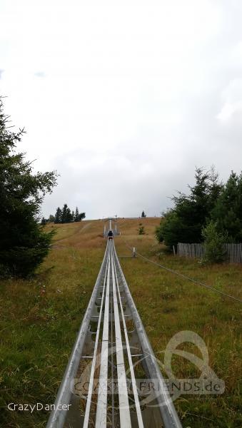 Luge Sur Rail im Park SM Markstein Grand-Ballon Impressionen