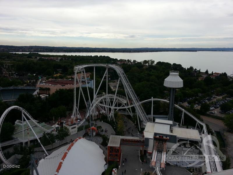 Oblivion - The Black Hole im Park Gardaland Impressionen