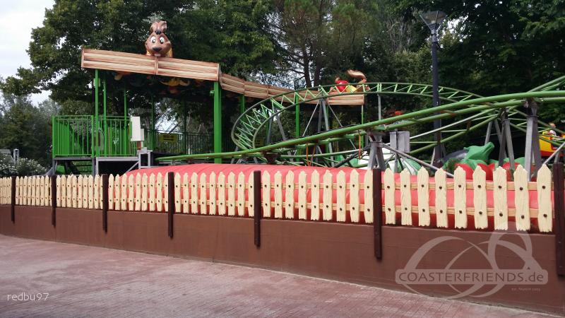 Leprotto Express im Park Mirabilandia Impressionen