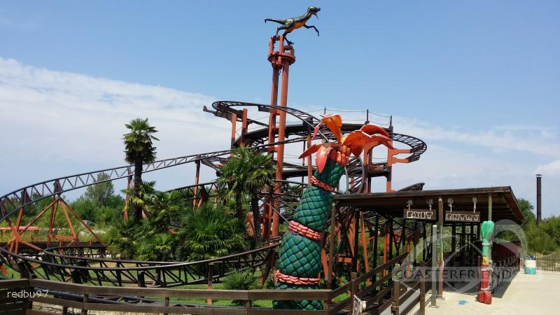 Brontojet im Park Movieland Park Impressionen