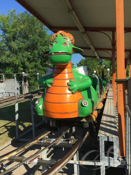 Dragon im Park Paperopolis Impressionen