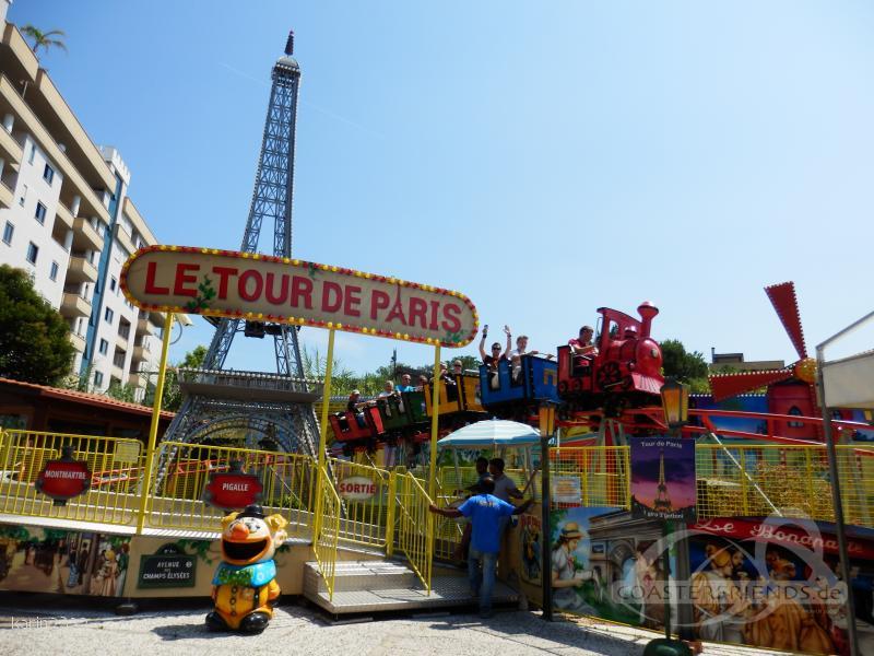 Le Tour de Paris im Park Parco Morelli Impressionen